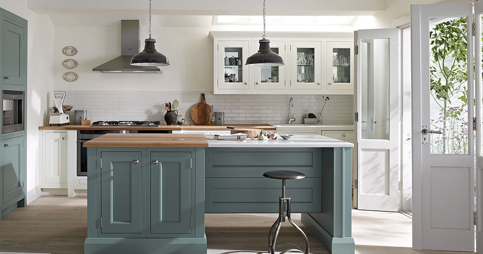 Edwardian Shaker kitchens
