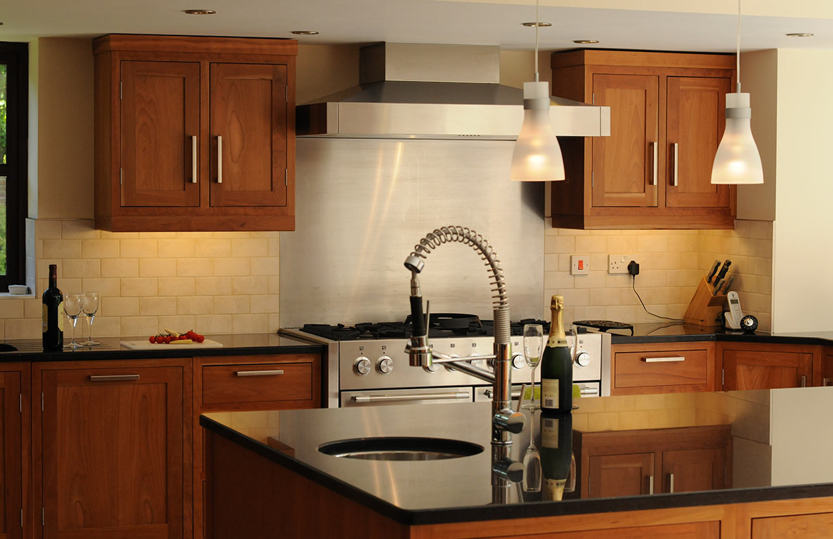Broadway Cherry Wood Shaker Kitchen