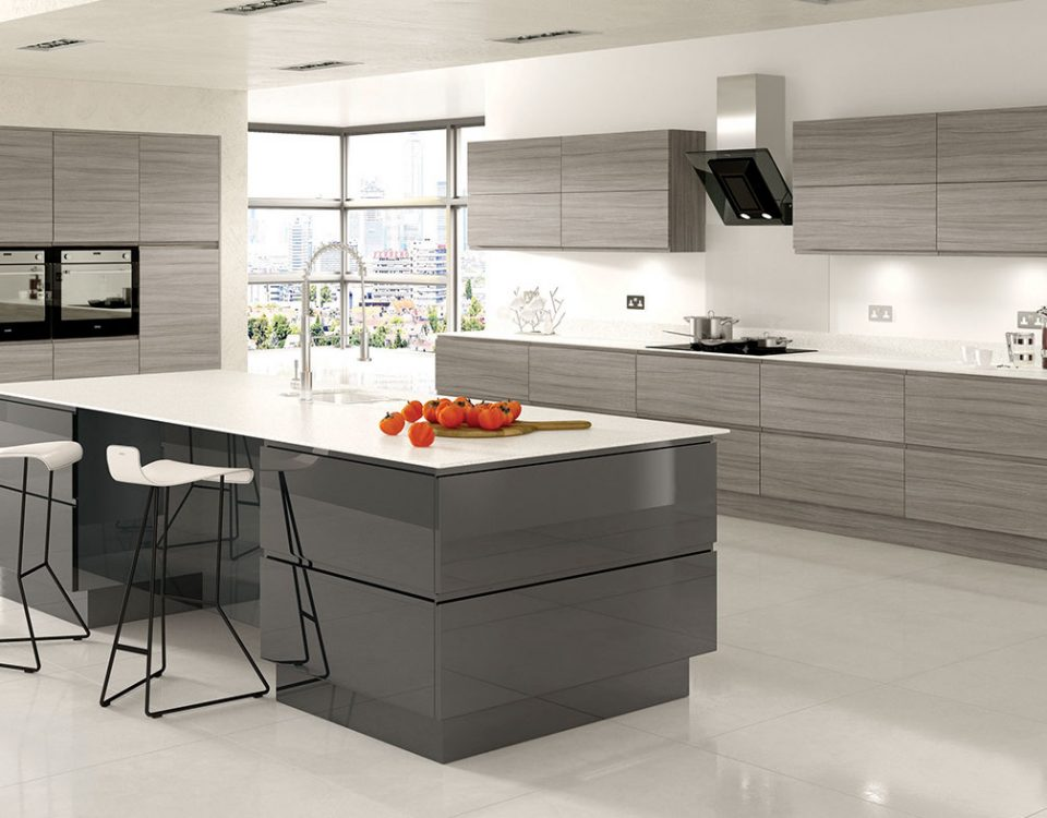 Modern and designer kitchens london essex broadway kitchens Bespoke contemporary kitchen design