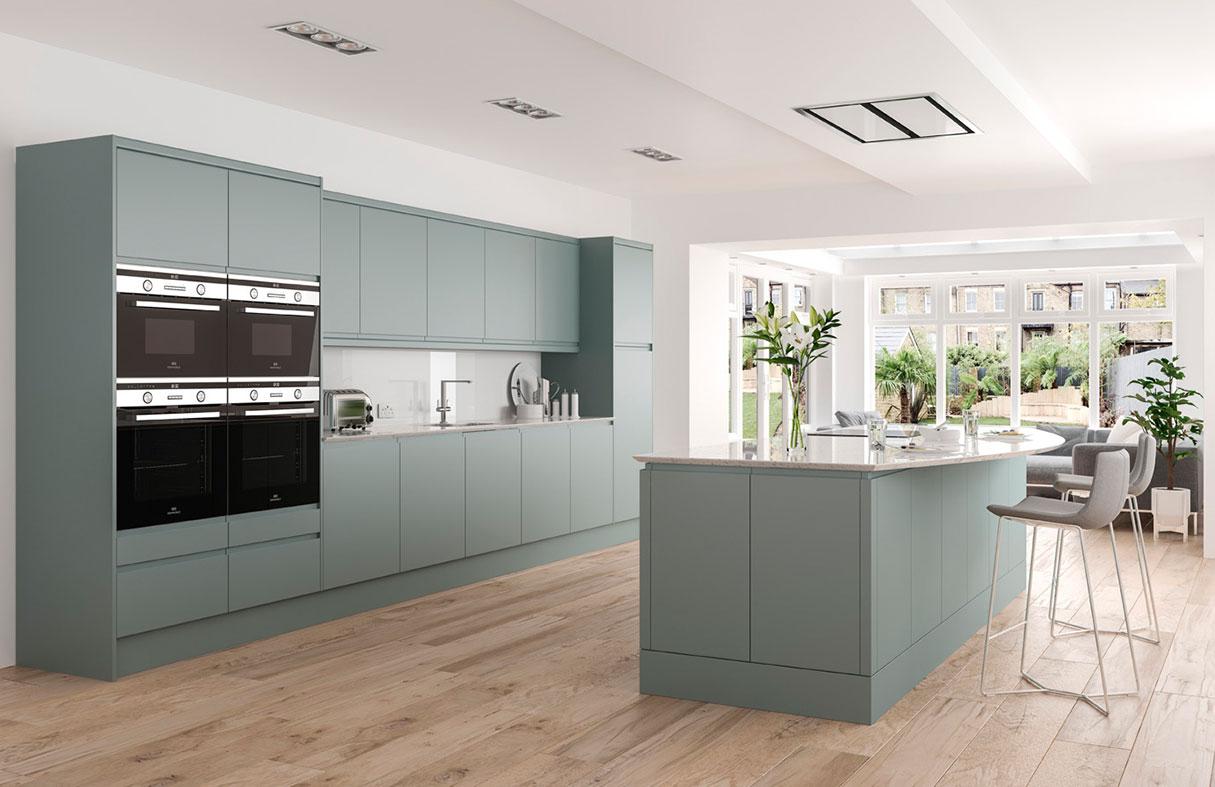 Designer German Style Modern Kitchens