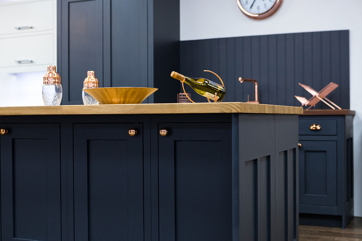 Perfect Broadway graphite in-frame shaker kitchen - Handmade Bespoke  ON27